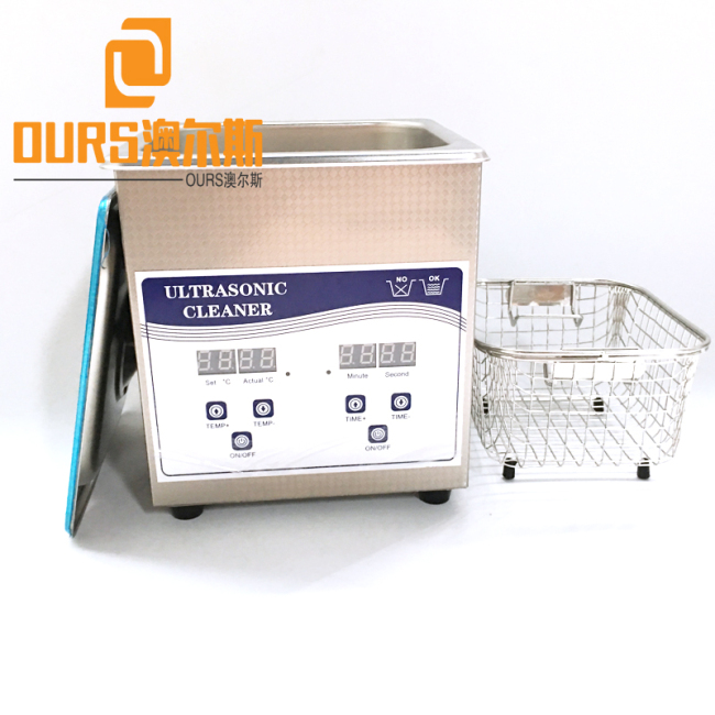 40KHZ 3L SS304 Digital Ultrasonic Jewelry Cleaner