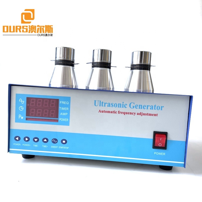 25KHZ 2000W 2400W 2800W 3000W Ultrasonic Sweep Generator For Making Industrial Cleaning Equipment