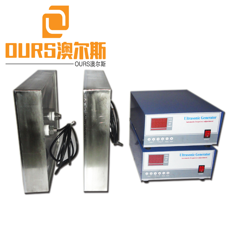 28KHz Ultrasonic Cleaning Transducer Plate with Industrial Cleaner