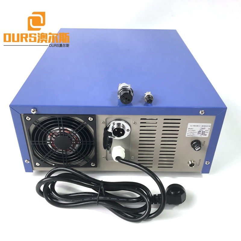 Automobile Parts Cleaner Equipment Industrial Ultrasonic Generator 28K/60K/70K/84K Ultrasonic Cleaning Generator Box With CE