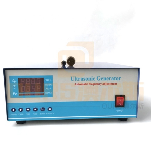 Industry Cleaning Bath Engine Ultrasonic Generator 40K 2400W With Power And Time Adjustable 110V Or 220V Voltage