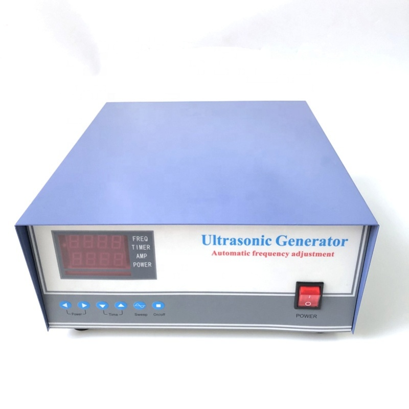 Industry High Frequency Power Ultrasonic Generator 135K 1200W Cleaning Wave Power Generator As Water Cleaning Tank Driver