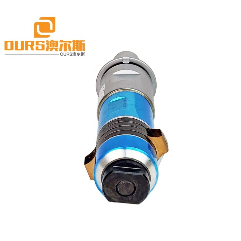 15K2000W Ultrasonic plastic cutting welding polishing transducer with transformer