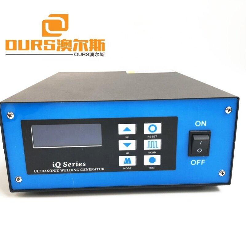 28Khz Ultrasonic Plastic Spot Welding and cutting system Machine for Plastic Fabric PVC PP PE nylon tea bag