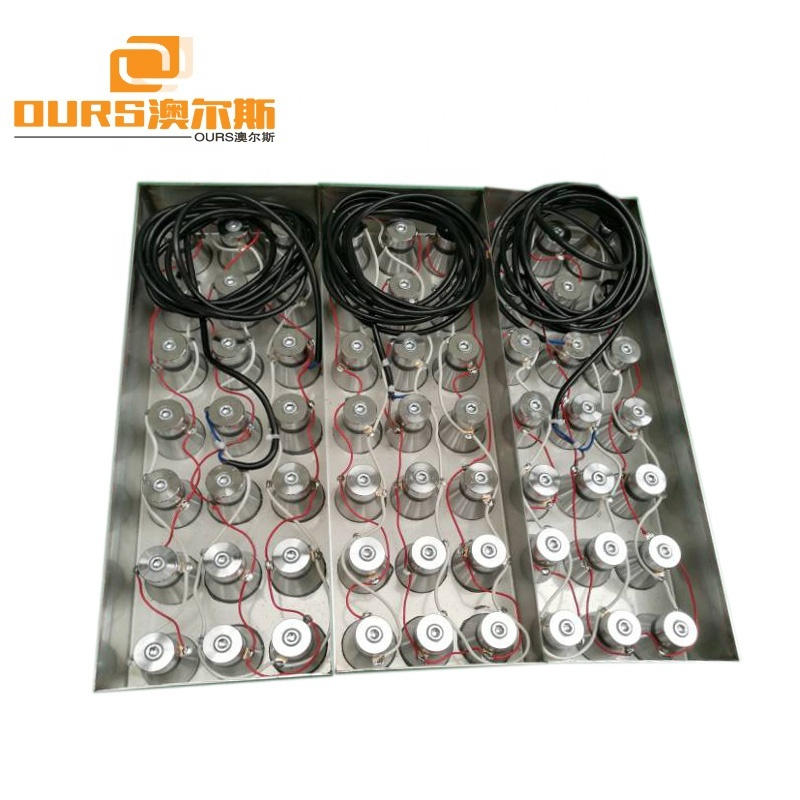 28KHz/40KHz Submersible Ultrasonic Transducer Pack 316L Stainless Steel Vibration Plate For Cleaning Tank