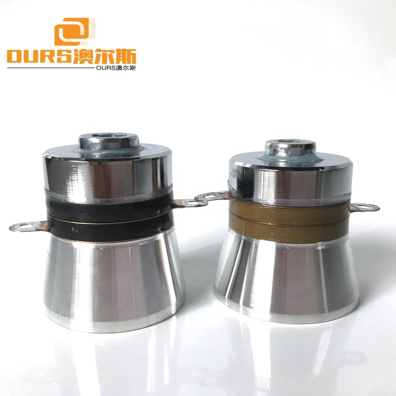 PZT4/PZT8 60W 40KHz Low Frequency Piezoelectric Ultrasonic Transducer For Cleaning