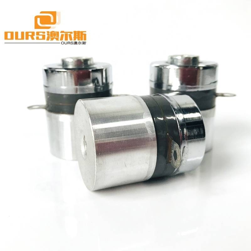PZT-4 High Frequency Ultrasonic Cleaning Transducer 100KHz 60W Ultrasonic Oscillator For Cleaning