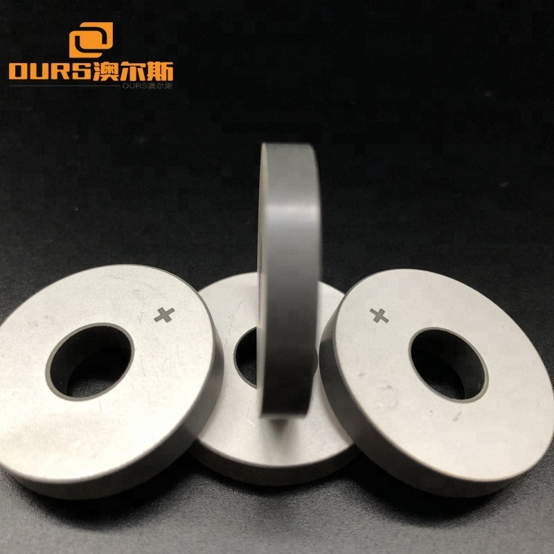 Factory Manufacture 30x10x5mm Piezoelectric Ceramic Ring PZT-4  Customized Any Size