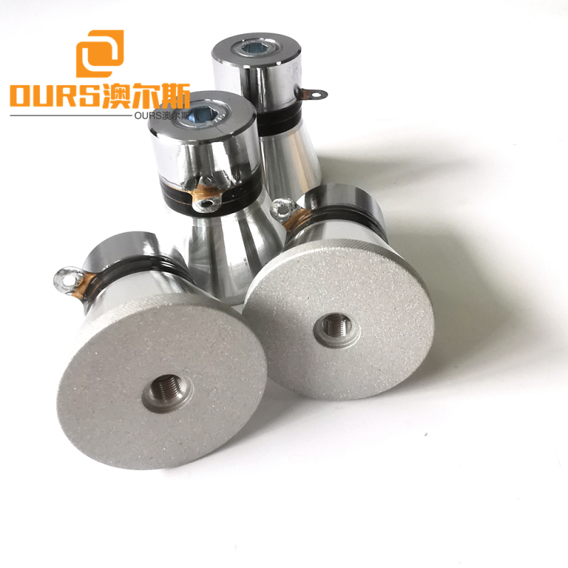 28khz 60w pzt4 Ultrasonic Washing Transducer For Cleaning Equipment Removal of Anti-rust Grease