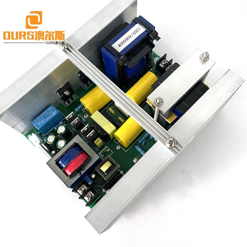 28KHZ 600W Ultrasonic Circuit Board PCB With Temperature Control Display Panel For Ultrasonic Cleaner Washing Mechanical Parts
