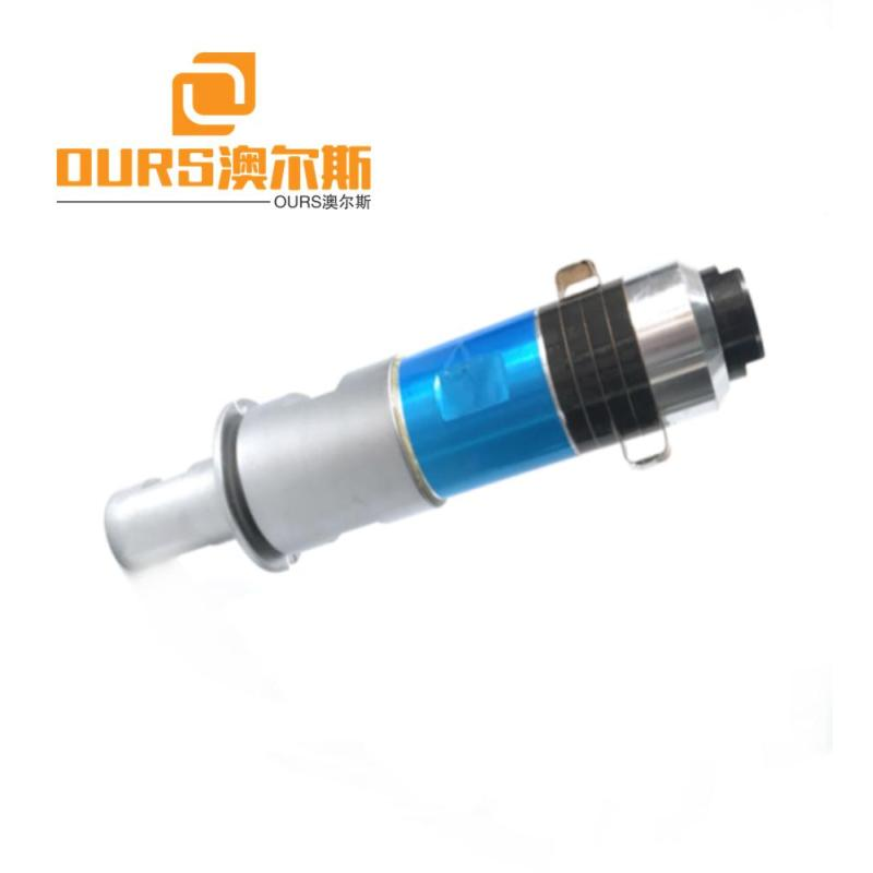 15khz ultrasonic welding transducer with booster for plastic welding machine  2000W
