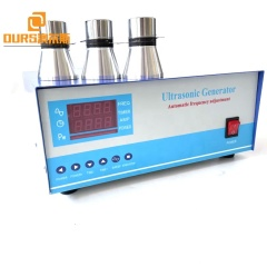 Industrial Ultrasonic Generator 28KHZ 2400W Power Used On Metal Plant Dies/Gears/Springs/Filters Oil Rust Cleaning Machine