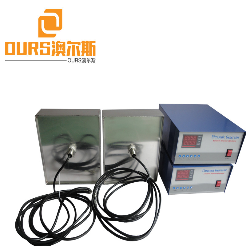650X450X100mm 28KHZ 2000W Waterproof Ultrasonic Immersible Transducer Cleaning Pack For Cleaning