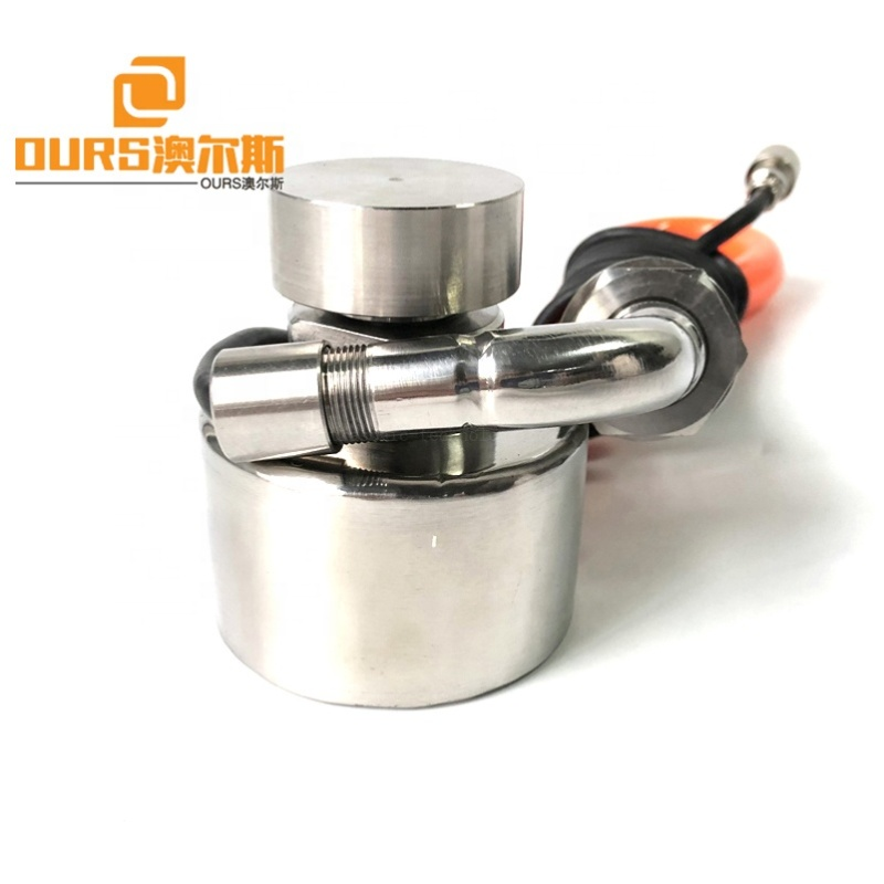 100W 33KHZ Frequency Ultrasonic Vibrating Transducer And Generator To Drive Vibrating Screen/Sieve For Dressing Industry