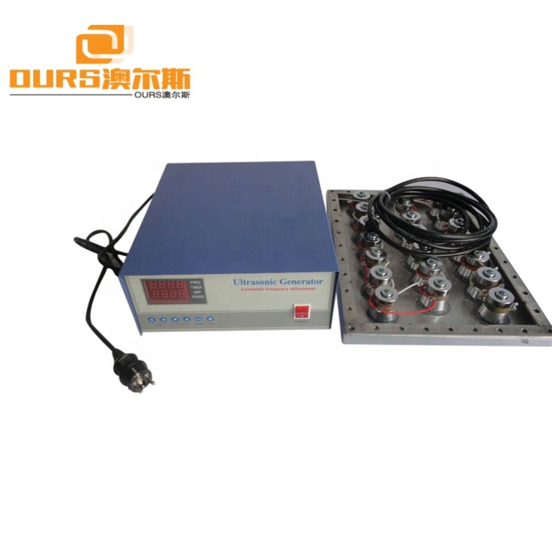 1500W Industrial Immersible Submersible Ultrasonic Transducer Vibration Plate with Ultrasonic Generator