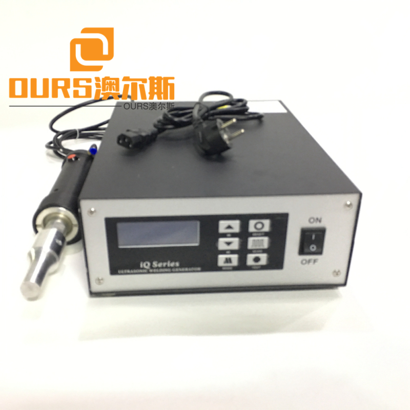 500W 20KHZ/28khz China PP PC ABS Auto Ultrasonic Riveting Welding Machine for Automotive Interior Parts factory