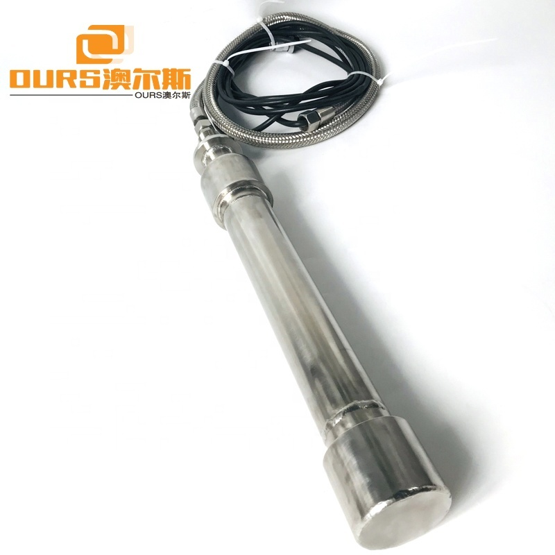 1000W Ultrasonic Biodiesel Reactor Ultrasonic Vibration Rod With Generator For Mixing Equipment
