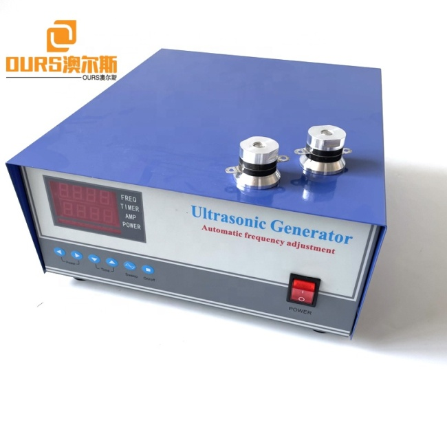Factory Hot Sell 28K 40K Ultrasonic Sweep Generator Driver As 60W 100W 120W Cleaning Transducer Oscillator Power Source