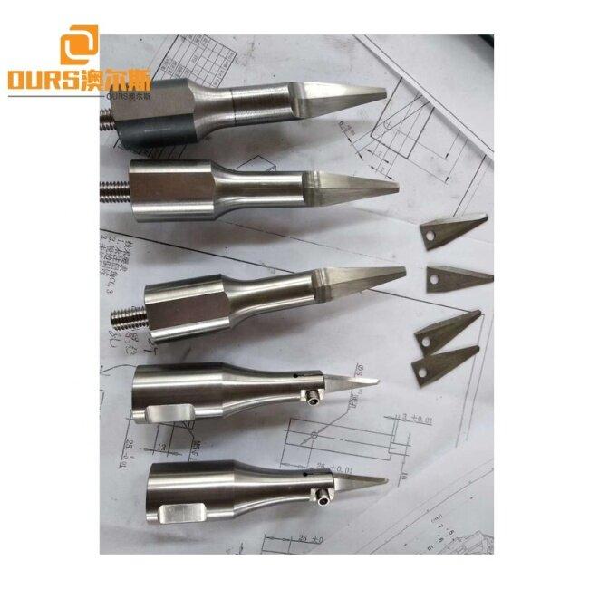 40K 35K 28K 20K 15K Ultrasonic Welding Horn Ultrasonic Welding Mild Steel Mold Aluminum Mold For Plastic Metal Welder