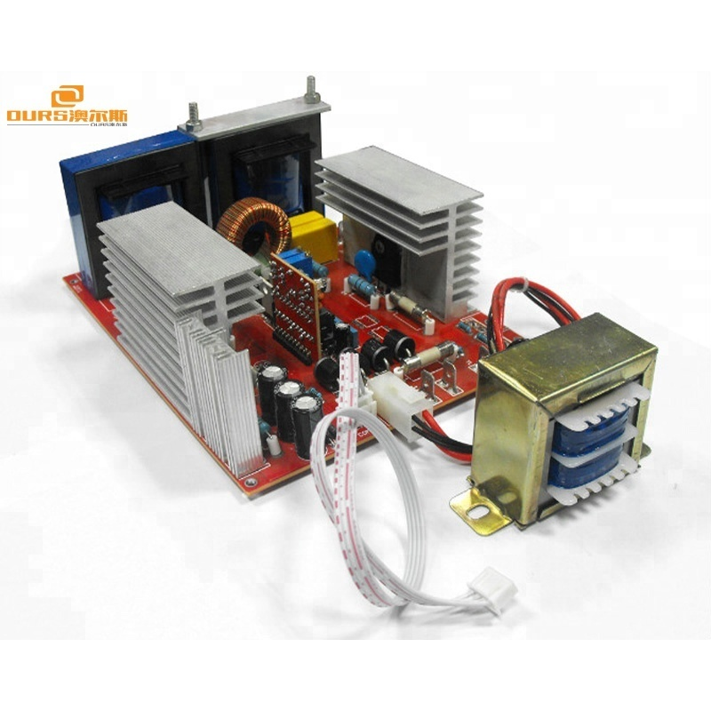 300W/28khz/25khz ultrasonic pcb generator ultrasonic transducer generator for cleaning