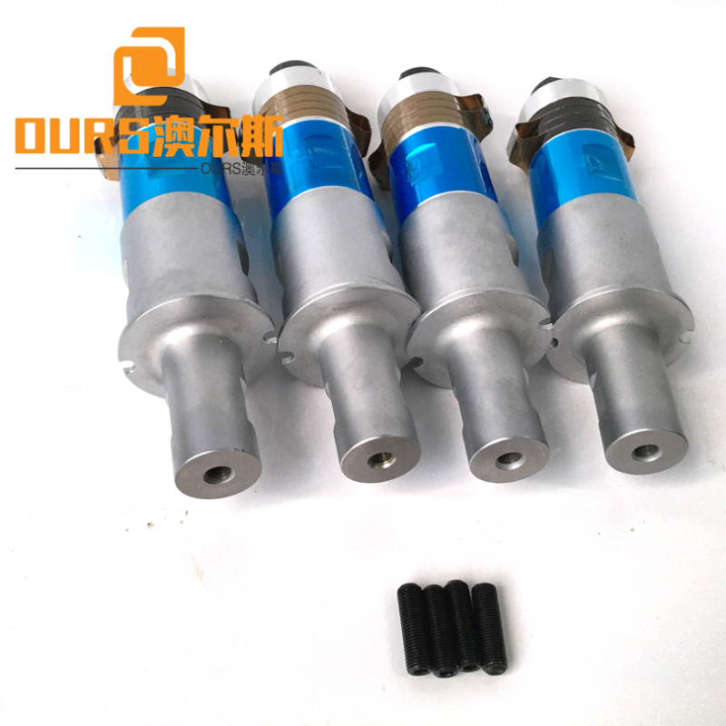 1500W 20KHZ High Power Piezoelectric Ultrasonic Transducer For Welding Automotive Parts