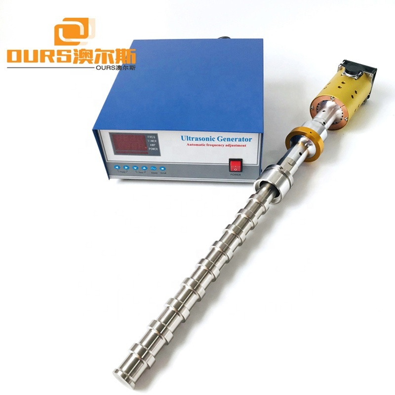 2000W Titanium Material Ultrasonic Processor Vibration Rod For Industrial Wastewater Treatment