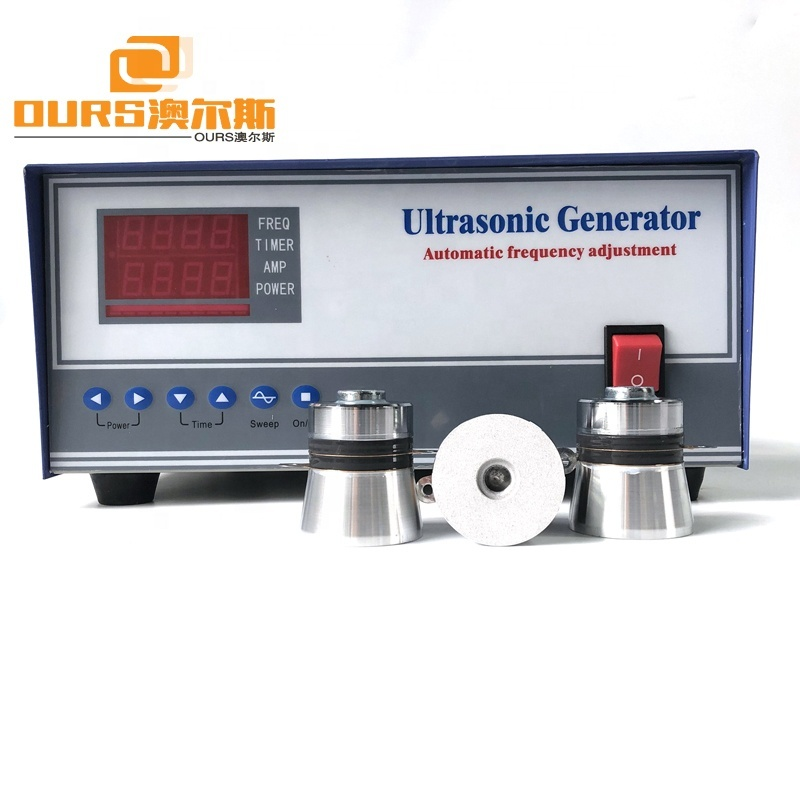 1200 Watts Ultrasonic Generator For Professional Ultrasonic Cleaning With Transducer High Performance Amplitude