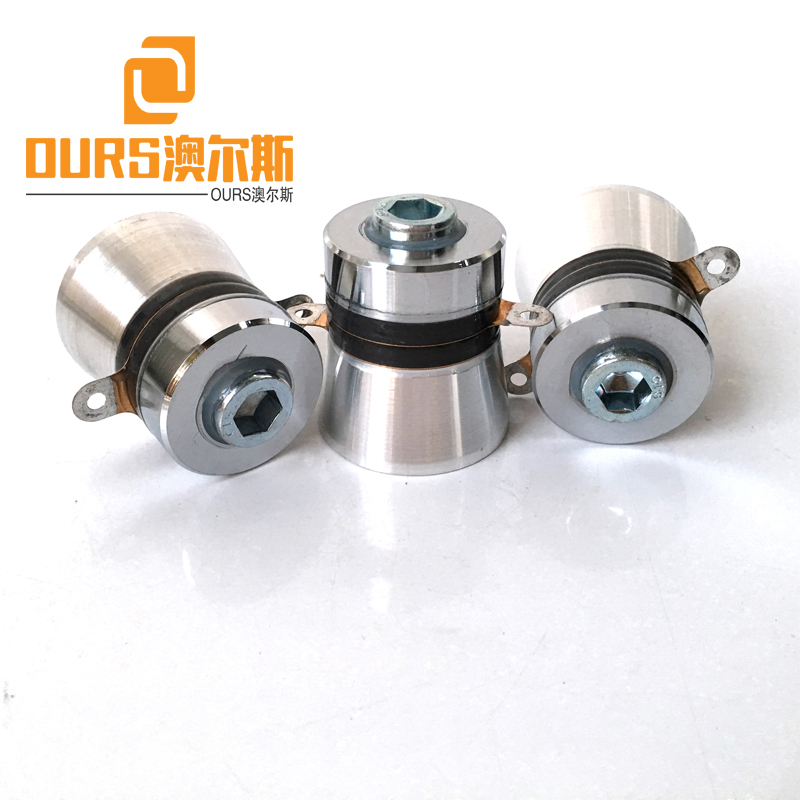 Fcatory Product 40khz 60W Ultrasonic Cleaning Vibration Head For Industry Ultrasonic Parts