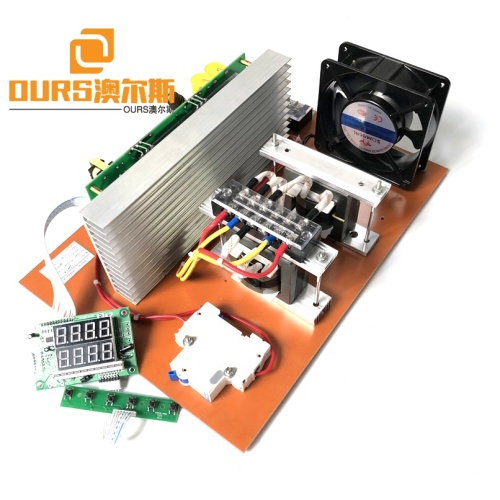 Industry Cleaning Plant Supply Ultrasonic Cleaner PCB Power Generator 1500W With Display Board As Transducer Power Supply