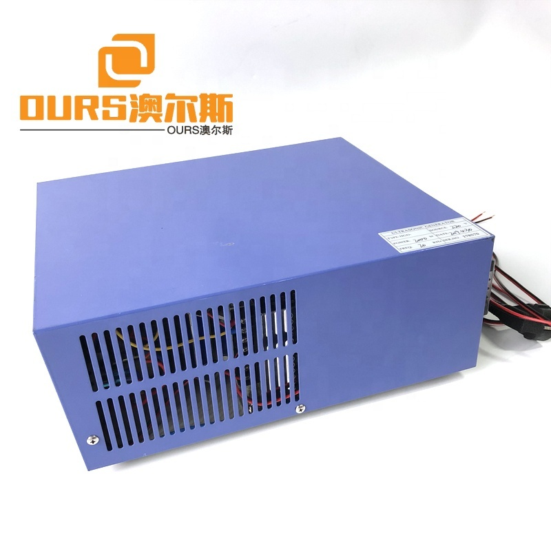 20KHZ RS485  Industrial Ultrasound Cleaner Power Source 2000Watt Ultrasonic Output Mechanical Cleaning System