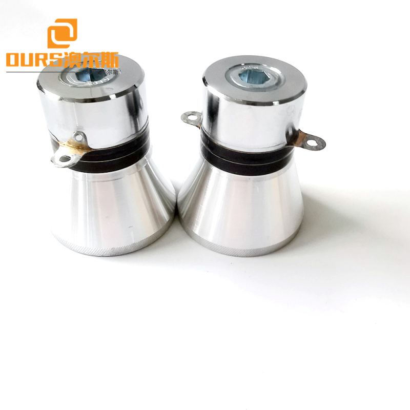 28khz 60w pzt4  Ultrasonic Power Transducer For Medical Ultrasonic Cleaning Machine