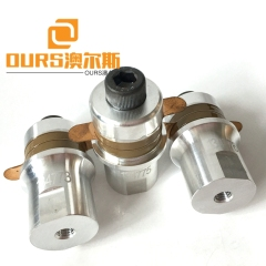 40KHZ PZT8 High Frequency Piezoelectric Ultrasonic Transducer For Ultrasonic Plastic Welding Machine