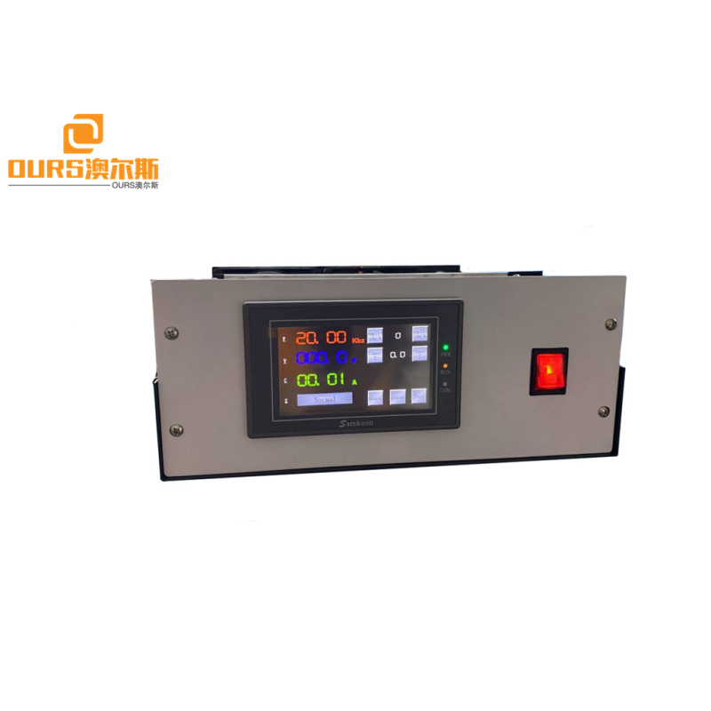2000w 20k Ultrasonic Weld Generator and transducer with horn  High Efficiency Large Amplitude Heat Resistance