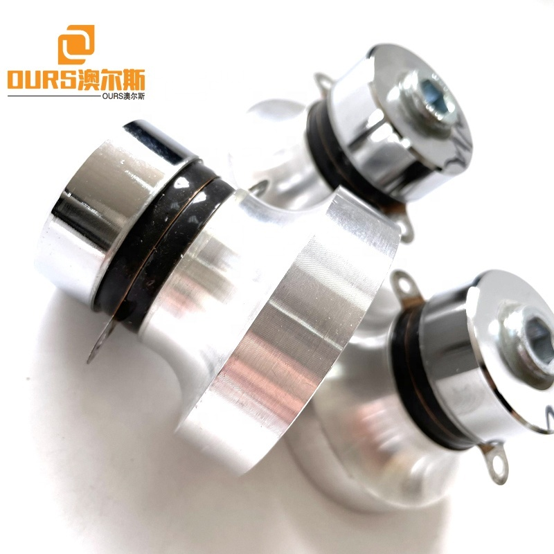 28K/40K Dual Frequency High Quality Ultrasonic Cleaning Transducer For Produce  Industrial Cylinder Filter Motor Parts Washer