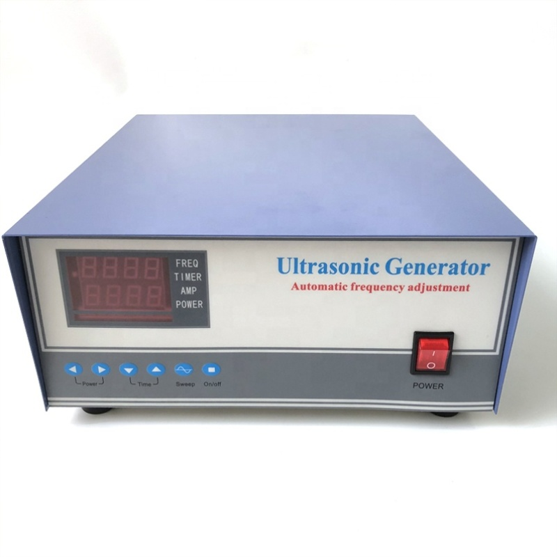 1000W CE Type Digital Ultrasonic Generator High Frequency Vibration Power Generator With Sweep Function For Industrial Cleaner