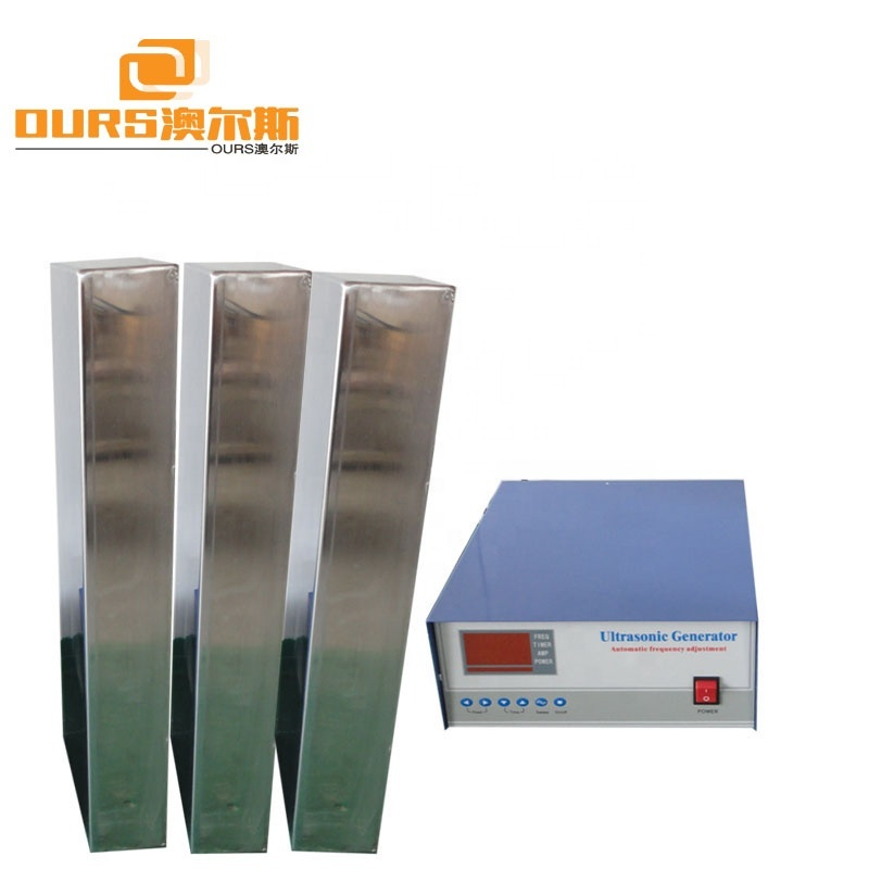 SS316 Stainless Steel Immersible Ultrasonic Transducer Vibration Plate With Generator