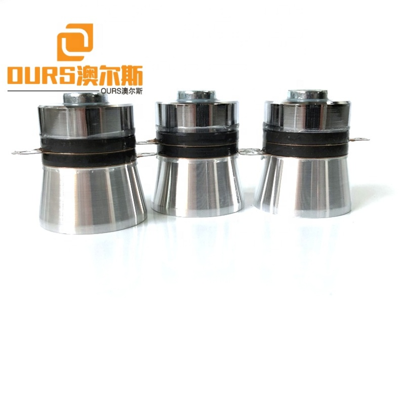 Industry Low Power Ultrasonic Cleaning Transducer Piezoelectric Pzt4 35W 40K/77K/100K/170K Cleaning Tank Ultrasonic Transducer