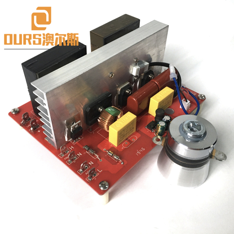 200W 28KHZ 220V Ultrasonic Vibration Power PCB For Cleaning Hardware Parts