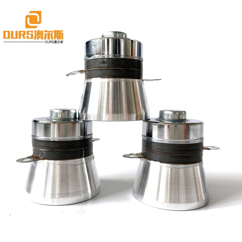 With Nails Ultrasonic Piezoelectric Transducer 40KHZ 50W For Making Korean Table Ultrasound Cleaner Tank