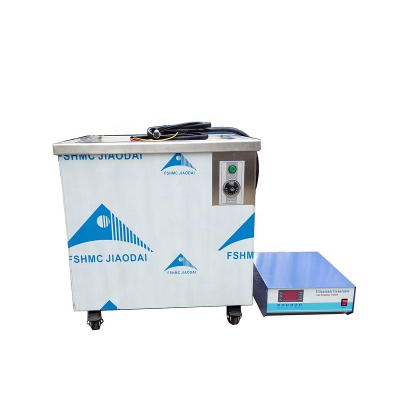 304 Stainless Steel 100 L Industrial Ultrasonic Cleaning Equipment For Electronic Equipment Vibration Frequency 28K