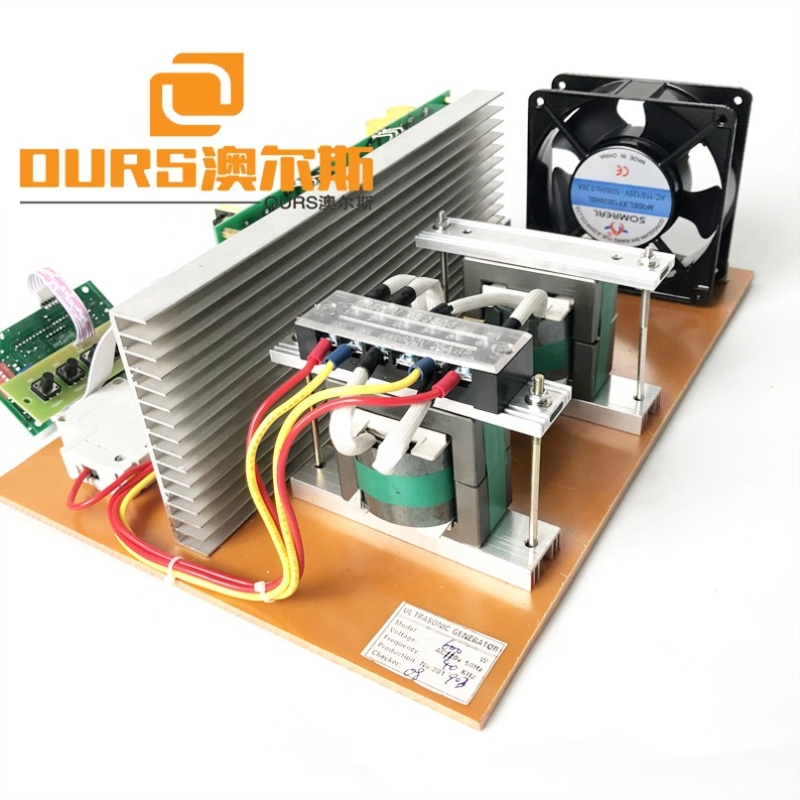 1300W 40K Ultrasound Vibration Signal Power Source Ultrasonic Cleaning Transducer Circuit Boards For Industrial Cleaning Machine