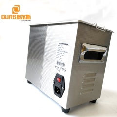 220V Or 110V Stainless Steel 120W Ultrasonic Cleaner With Display Ultrasonic Electric Shaver Heads Cleaning Machine