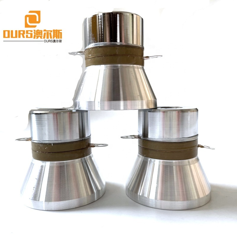 33K 60W China Manufacture Crystal Ultrasonic Cleaning Transducer Ultrasound Oscillator