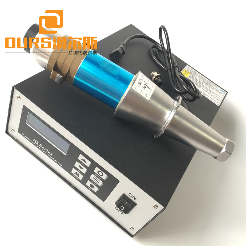 High Efficient15khz 2000W Surgical Face Mask ultrasonic welding transducer and generator