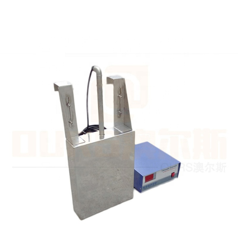 High Intensity Efficiency Industrial Transducer Equipment Immersible Ultrasonic Transducer Pack With Cleaning Generator