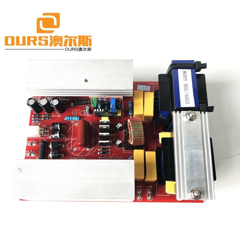 Low Frequency 20KHZ Piezo Transducer Driver Ultrasonic PCB Generator For Ultrasonic Cleaner Tank With  CE Approve
