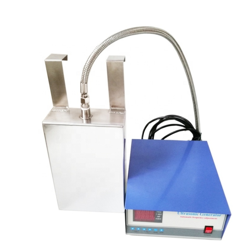2000W Ultrasonic Oscillator Sale Piezo Ceramic Submersible Transducer With Generator For Spare Parts Dirts Cleaning Up