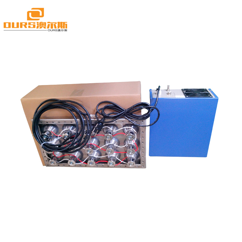 20-40khz Different Frequency 1000w Cleaning Pack Machine Ultrasonic Immersible Transducer for Cleaning Mechanical Part