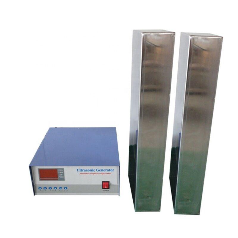 Immersible Ultrasonic Transducer Pack 28KHz/40KHz 2400W Power Ultrasonic Cleaning Equipment