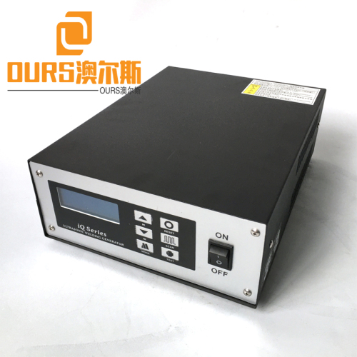 Best-selling Turkey and India 20khz High Productivity Ultrasonic welding generator and Horn